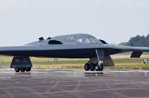Boeing Protests Northrop's Long Range Strike Bomber Contract