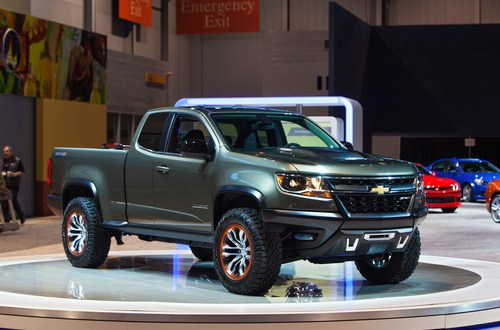Army tests hydrogen-powered Chevrolet pickup