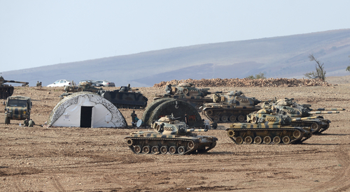 Turkish tanks pound Kurdish militants in week-long military campaign | Reuters