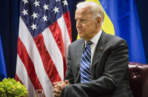 Biden suggests 'military solution' to Syrian conflict