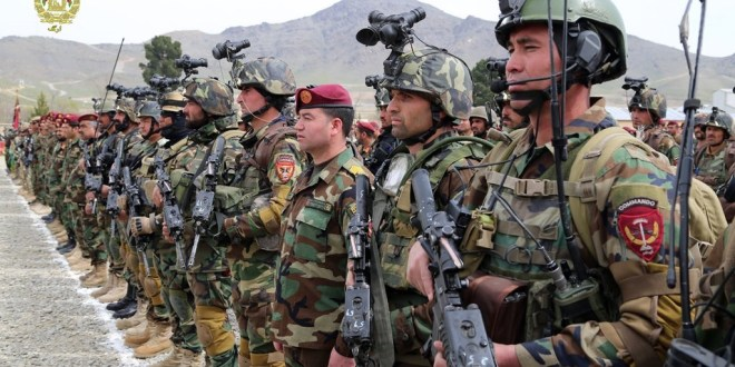 Ghani hails Afghan special forces for thwarting imposed war on the nation | Afghan News Agency