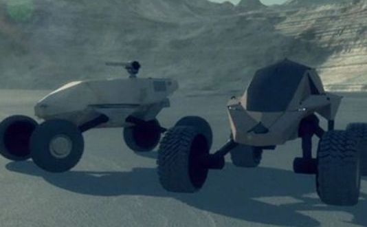 The vision for the future ground vehicle looks a lot like a dune buggy