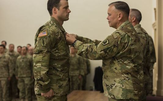 Green Berets honored with Silver Star and eight other valor awards