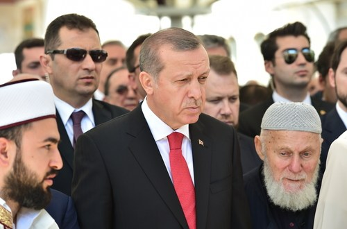 Erdogan says Turkey killed 3,000 IS extremists
