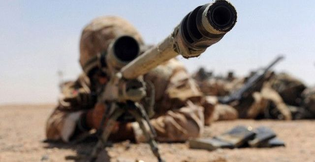 SAS sniper takes out two ISIS car bombers with a single shot in Libya  | Daily Mail Online