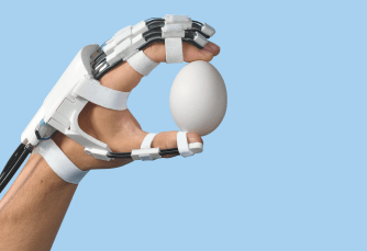 A thought-controlled robotic exoskeleton for the hand | KurzweilAI