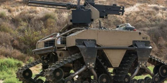 Russian Special Forces have new pal, and it's a gun-toting combat robot tank called Nerekhta | IBTimes