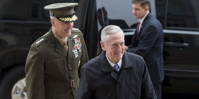 Mattis to Decide Soon on Troop Levels in Afghanistan | Military.com