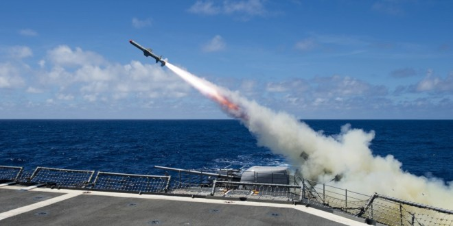 US Launches Cruise Missile Strike on Syria   Military.com