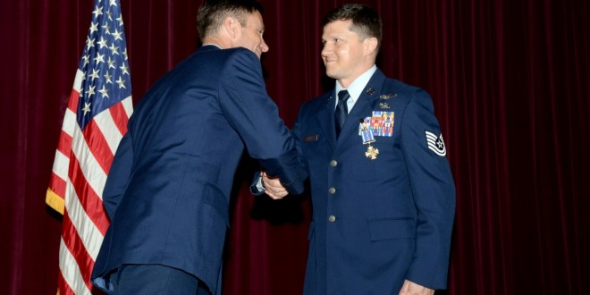 Airman receives Distinguished Flying Cross for South Sudan mission | AirForceTimes