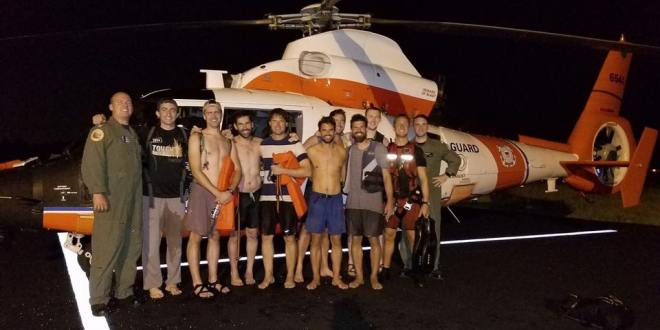 Bachelor party rescued by U.S. Coast guard | USA Today
