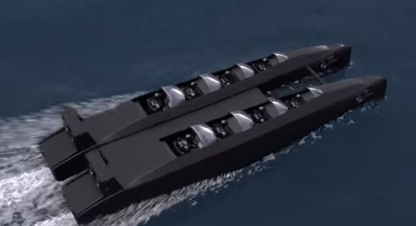 This Combat Diver Delivery Unit Is a Crazy Fast Speed Boat That Turns Into a Sub | The Drive