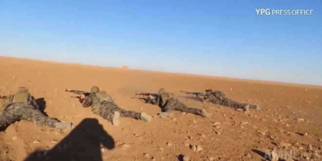 Footage: ISIS base in north Syria gets stormed by Kurdish special forces | AMN