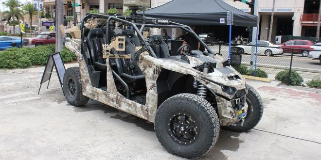 SOFIC 2018: Nikola Reckless All-Electric UTV for Special Forces | Army Recognition