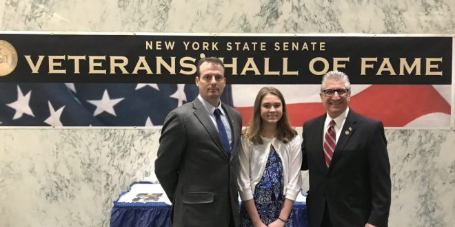 Inducting Navy SEAL Dan Izzo into NYS Senate Veterans Hall of Fame | Times Union
