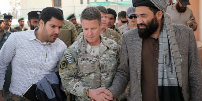 U.S. commander in Afghanistan survives deadly attack at governor's compound that kills top Afghan police general   The Washington Post