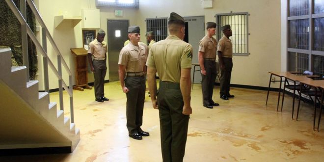 Busting rocks in jail?': New Marine correctional unit goes against stereotype with mindfulness and goal setting | Stars and Stripes