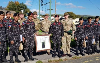 Scout Rangers feted for good showing in UK exercise   PNA