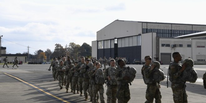 Here's the list of military units headed to the border | Military Times