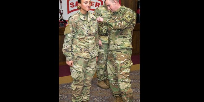First enlisted woman earns her Sapper tab | Army Times