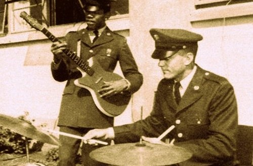 Jimi Hendrix Jamming in the Army in 1962 with the 101st Airborne Division