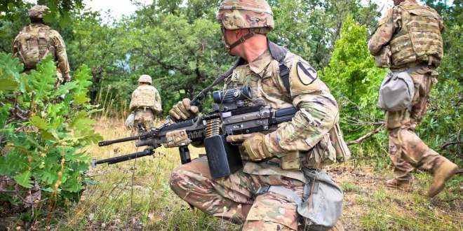 Here's when the Army will pick three companies to build the M16/M4 and SAW replacements for soldiers and Marines   Army Times