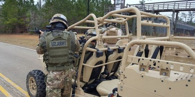 Uzbek special forces train in U.S.A. | Army Recognition