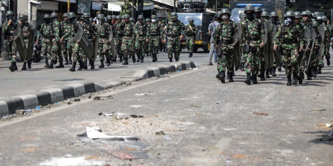 Jokowi revives special military force to help police combat terrorism| The Jakarta Post