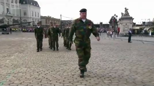 Detail, please halt! Belgian cadets display the worst drill in the history of upright walking | Military Times