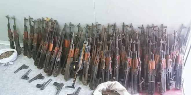 Special Forces seize up to 100 weapons of Taliban, 1000 rounds of ammunition in Logar| Khaama