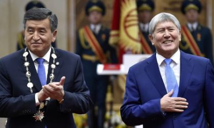 Detained Kyrgyzstan ex-president charged with murder over special forces death | The Telegraph