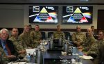 USSOCOM military leaders at a table
