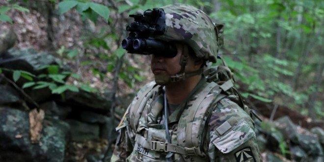 This Army unit will be the first to get the most ever advanced night vision goggles, with thermal |Army Times