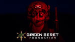 Green Beret with night vision goggles