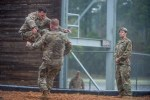 Army Rangers physically demanding fitness exercise and course