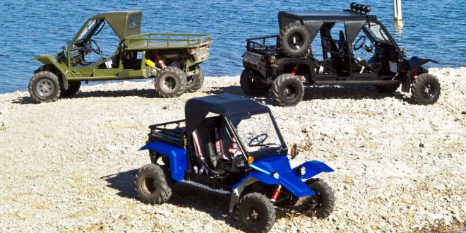 Drive Like the Israeli Special Forces With The $36,500 Tomcar TX4 UTV | Carscoops