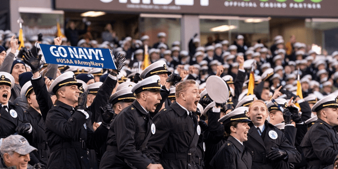 West Point and Annapolis officials probe possible white power hand signs at Army Navy game | Military Times