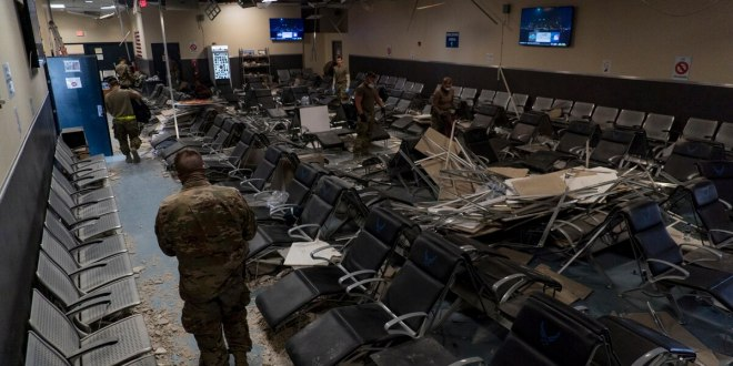 US military releases photos showing Bagram Air Base damage following brazen Taliban assault | Military Times