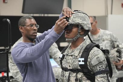 Top enlisted soldier tries 'do-it-all' goggle being tested by Army, Marines | Marine Times