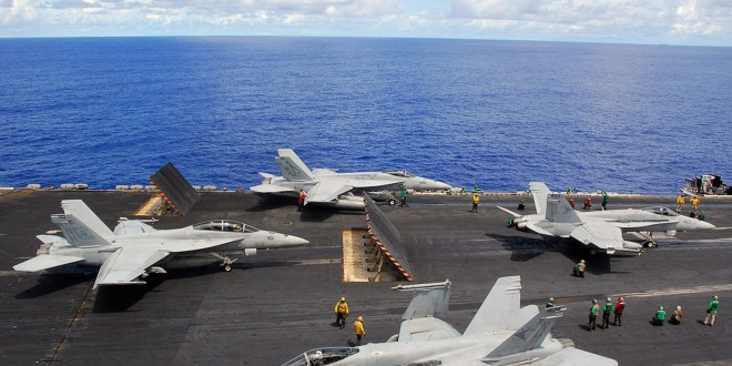 Carrier-launched airstrikes hit ISIS targets in Iraq as USS Nimitz patrols Persian Gulf | Stars & Stripes