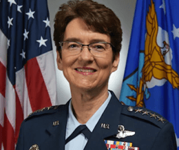 She once was barred from fighter jets. Now she's the Pentagon's only female four-star   Task & Purpose