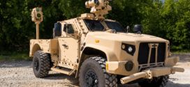 The Air Force successfully tested a mobile laser weapon to protect convoys from enemy drones | Task & Purpose