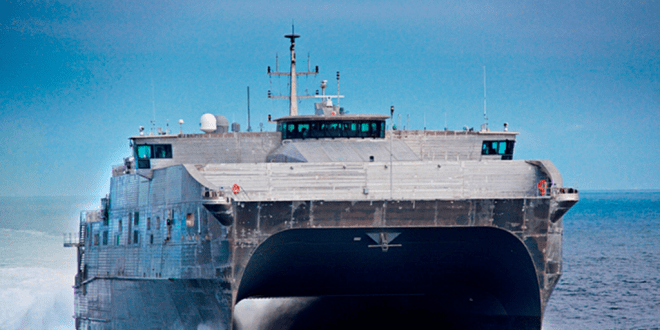 Austal USA delivers US Navy's EPF ship | Naval Technology