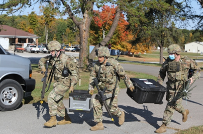 US Army conducts first-of-its-kind exercise for tactical information warfare unit   C4ISRNET