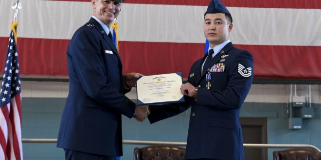 19th Air Force Commander bestows Bronze Star Medal and Distinguished Flying Cross to recipients | DVIDS