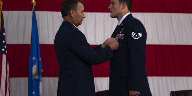 Moody PJ gets Silver Star for heroism amid Afghan ambush | Air Force Magazine