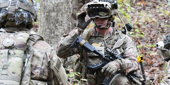 Soldiers, Marines finish first test of ruggedized 'do-it-all' augmented reality goggle | Army Times