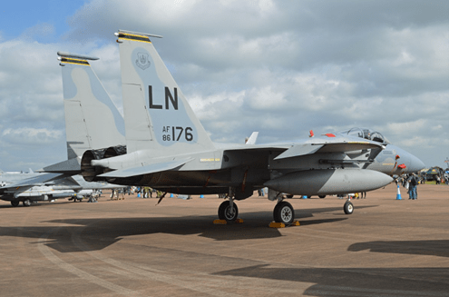 Pilot error led to fatal F-15 crash in North Sea, Air Force report says | Stars & Stripes