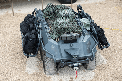 Rheinmetall unveils new ground robot for armed reconnaissance | Defense News