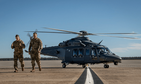 Malmstrom Air Force Base first to receive new MH-139 Grey Wolf helicopters | KHQ News